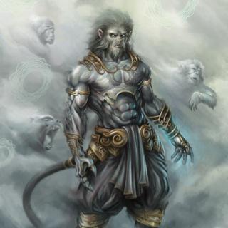 Hanuman, a modern interpretation