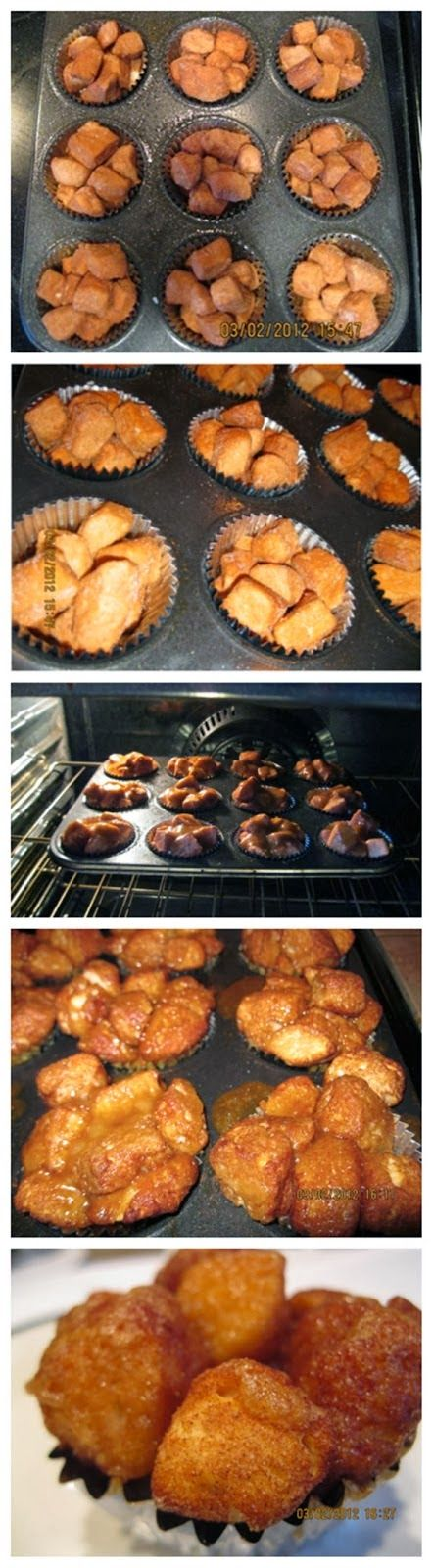 Exclusive Foods: Easy Monkey Bread Muffins Recipe