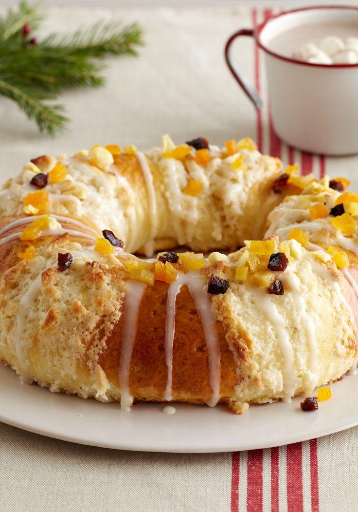 Rosca de reyes- Sorprende a todos con esta rosca de reyes, perfecta para tu día lleno de celebraciones. Haz clic para ver cómo hacer.