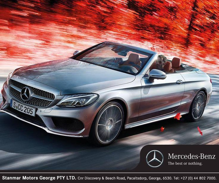 Are you after a refined, classy four-seat convertible? Then the #MercedesBenz C-Class Cabriolet could well be for you. Contact #TeamStanmar on 044 802 7000 for more information or to book a test drive.