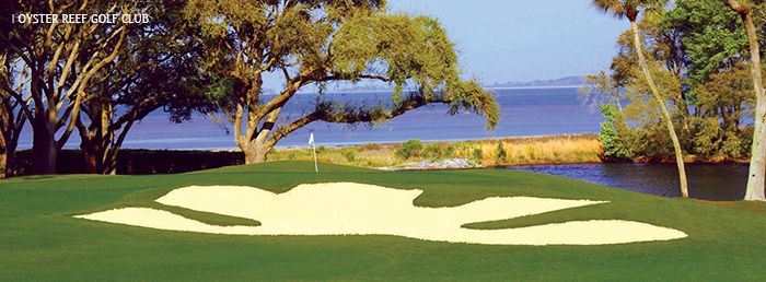 Oyster Reef Golf Club à Hilton head - join us for a junior golf tournament, October 10-11, 2015.  More at FCWTgolf.com
