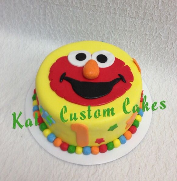 Elmo Birthday Cake Pics