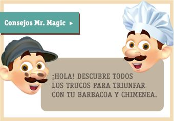 Mr Magic Desholliandor y sus consejos para chimenas