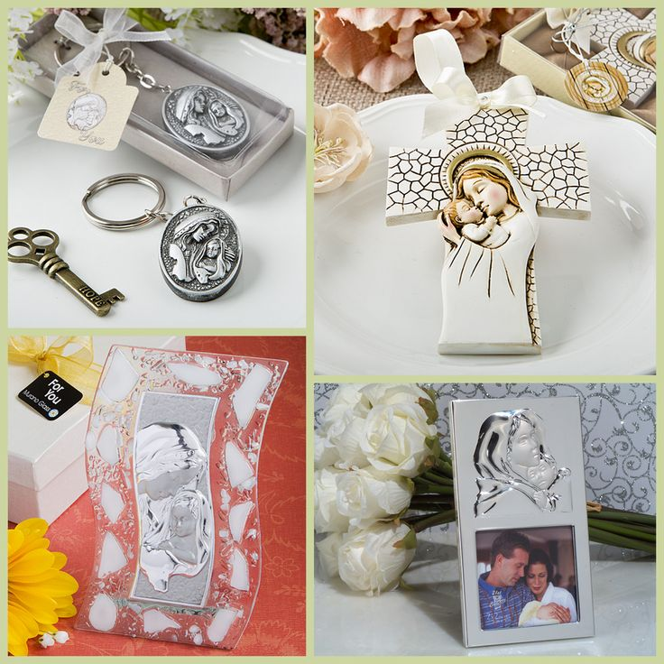 Madonna and Child Party Favors from HotRef.com