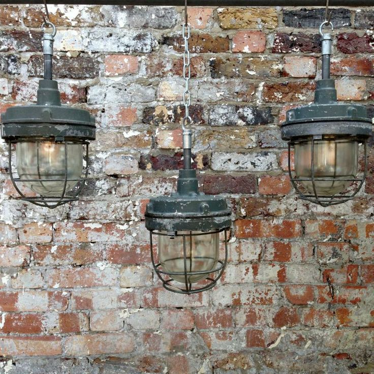 Industrial Pendant Lights For Sale On SalvoWEB From