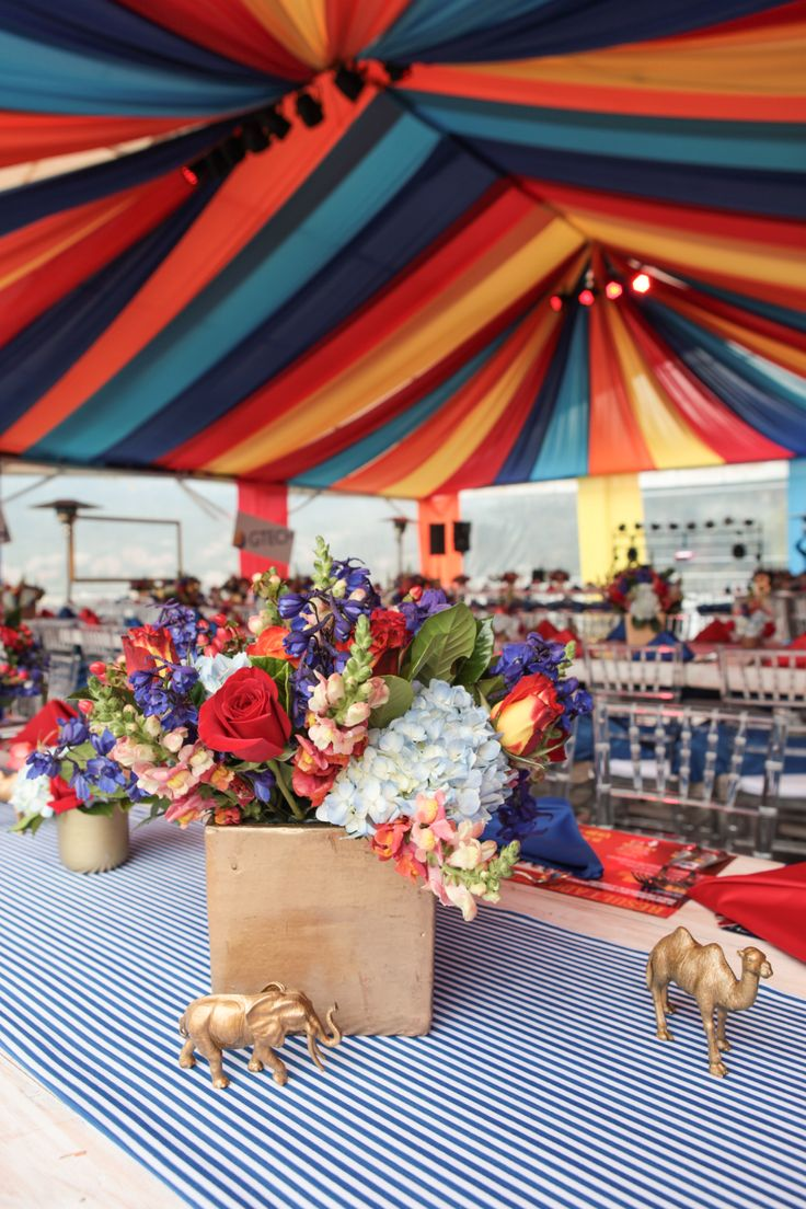 Colombia eventos, fiesta temática fin de año corporativo, circo.  por @adrianasatizabal.