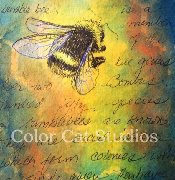 Sold my last little buzzy bee.  Cute little thing! colorcatstudios101.etsy.com