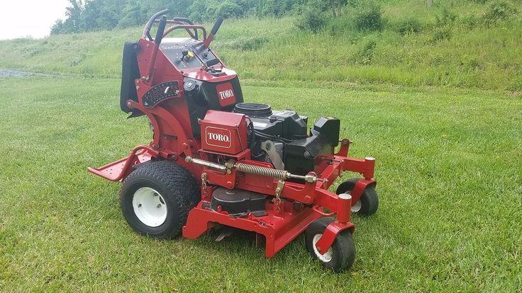 "2012 Toro 40"" Grand Stand On Commercial Hydro Zero Turn Lawn Mower Stander... #Toro"