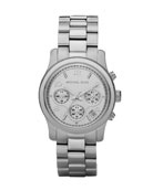 Saw this watch on someone (you know who you are!) it's gorgeous.....wish I needed a new watch.... Michael Kors Silver bracelet watch MK5020
