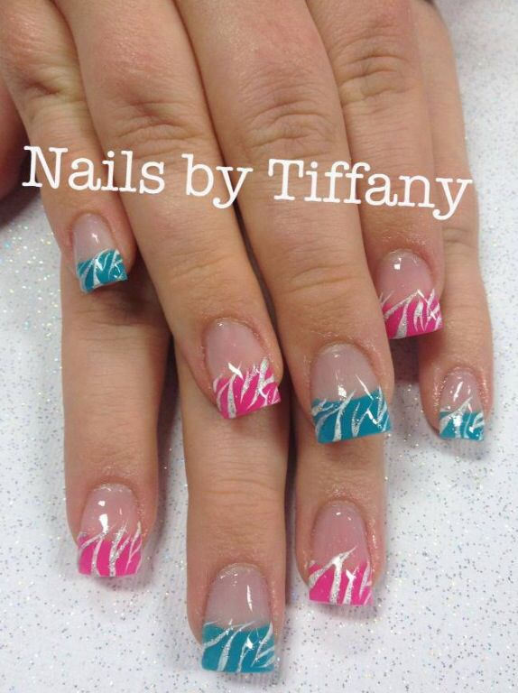 Acrylic nails by Tiffany