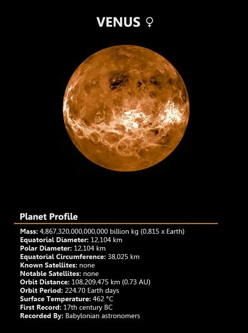 venus solar system exploration - photo #22