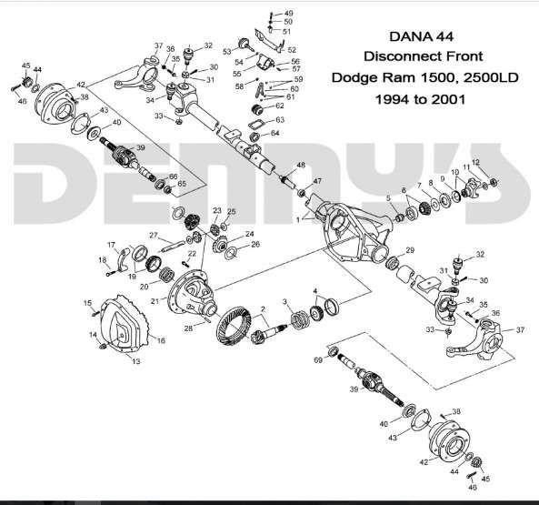 12 Dodge Truck Front End Parts Diagram
