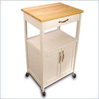 Catskill Craftsmen Butcher Block Kitchen Cart