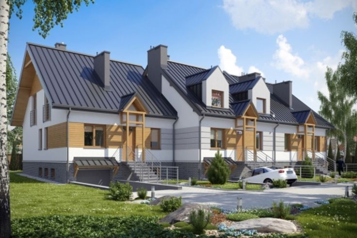 DOM.PL™ - Projekt domu KBP LESKO 2 CE - DOM BP4-85 - gotowy projekt domu