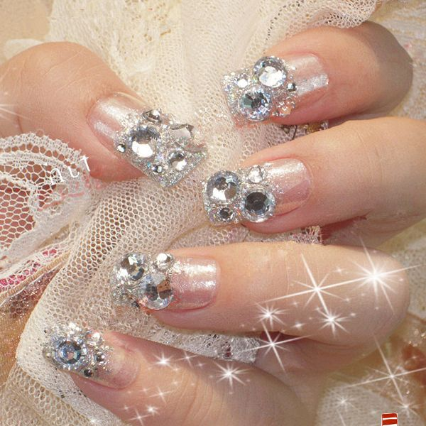 48 best Sparkling nail art images on Pinterest