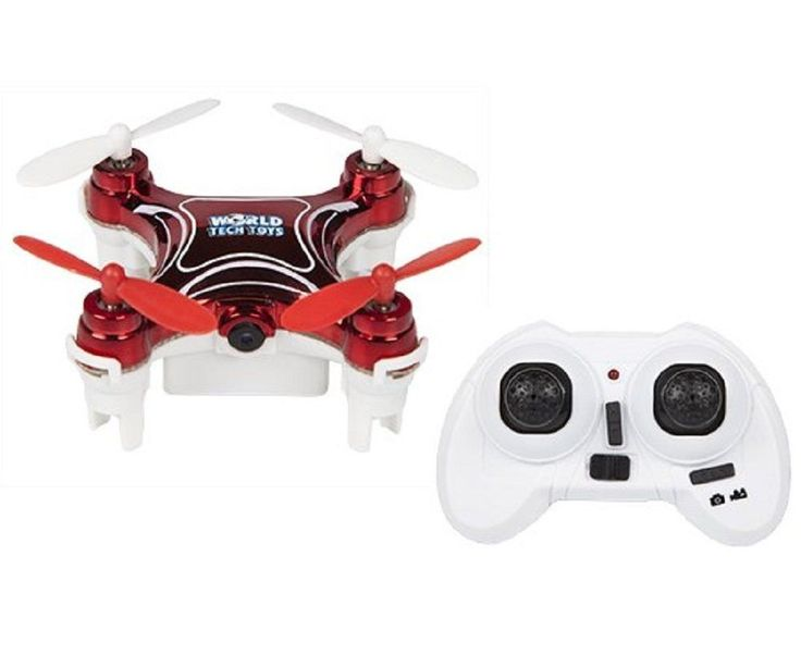 World Tech Toys 2.4Ghz Nemo Spy Drone - Video/Picture Camera 4.5 Channel RC Quadcopter