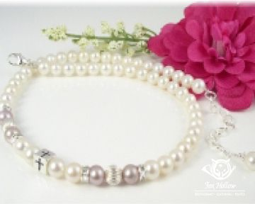 Your baby's first #PearlNecklace