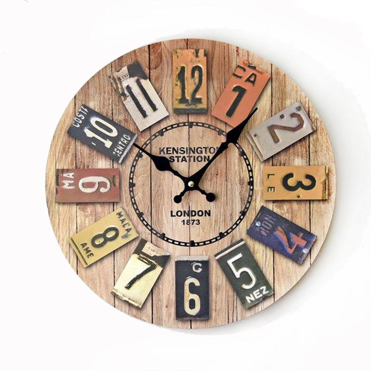 Encontrar Más Relojes de Pared Información acerca de Londres 1873 3D Reloj de Pared 14 Pulgadas Retro Vintage Decoraciones Para El Hogar Ronda Relojes de Pared de Madera Maciza Reloj Silencioso Reloj de Cuarzo Digital, alta calidad insertar reloj, China reloj de cuenta atrás Proveedores, barato reloj contador de Agreetao Best Taobao Agent-MandsenTech en Aliexpress.com