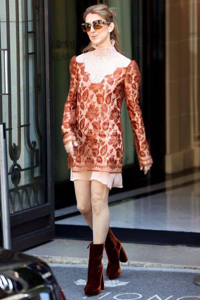 Celine Dion - Fashion Week in Paris - July 2016