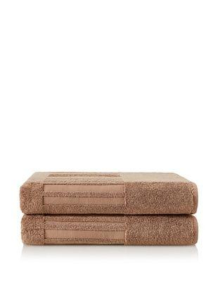 50% OFF Garnier-Thiebaut Set of 2 Bath Sheets, Dune