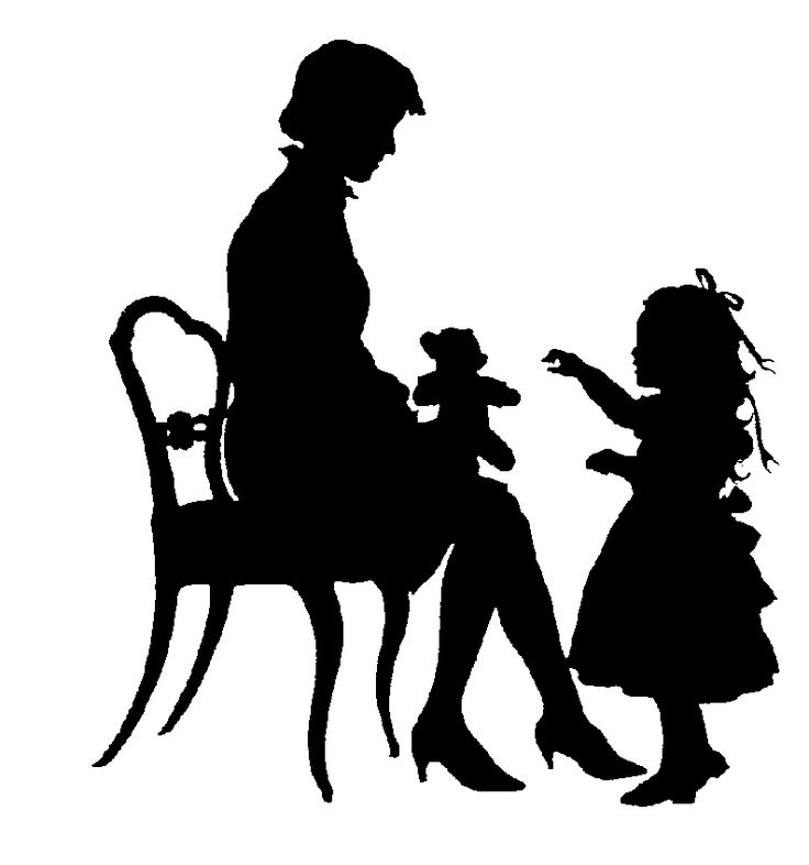 Love The Mother Child Silhouette: 96 Best Images About Silhouettes On Pinterest