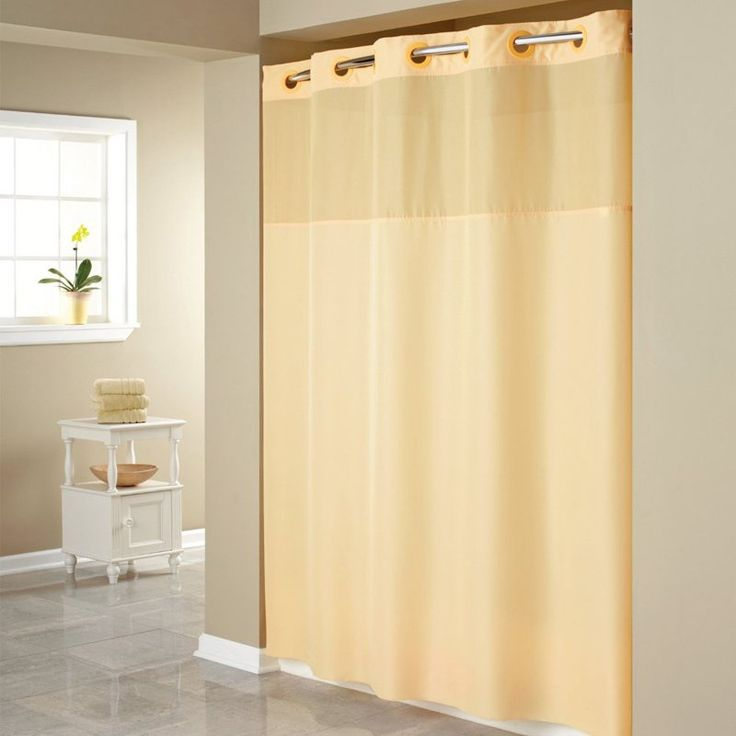 1000 Ideas About Hookless Shower Curtain On Pinterest Curtain Designs Shower Curtains And