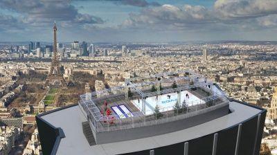 Une patinoire sur la Tour Montparnasse