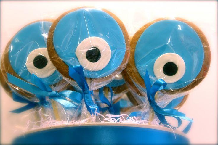 #greek #symbol #cookie! Για καλό... ξεμάτιασμα! www.thesweetspot.gr