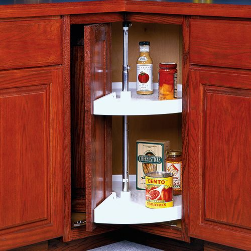 12 Inch Deep Kitchen Cabinets 28 Inch Cabinet Lazy Susan - White - Door-mounted