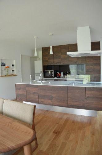 さらふわぬっぺり  web内覧会:家具のようなアイランドキッチン