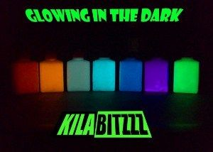 60ml Glow In The Dark Luminescent Luminous paint - Choose a colour - 60ml size