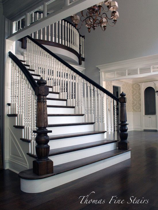 Best 8 Best Ideas About Two Tone Staircase On Pinterest Entry 400 x 300