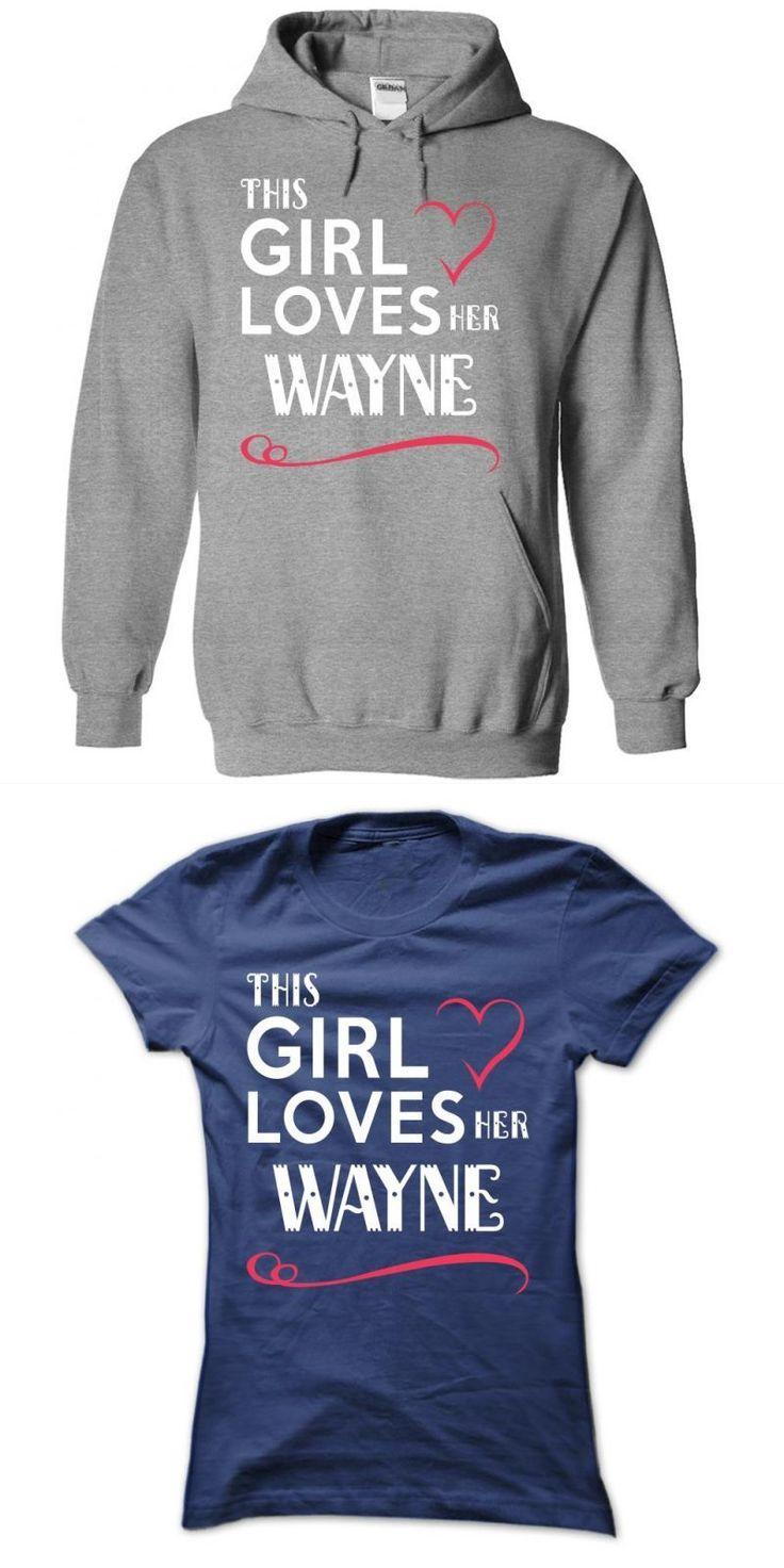 This Girl Loves Her Wayne Thomas Wayne T Shirt #alexander #wang #t #shirt #lil #wayne #t #shirt #hot #topic #wayne #state #college #t #shirts