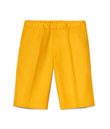 MARNI at H & M shorts in yellow.
