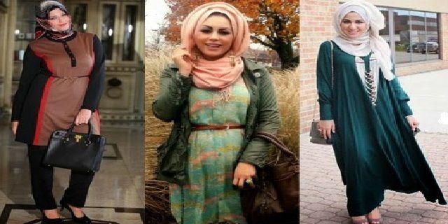 Model Baju Busana Muslim Orang Gemuk