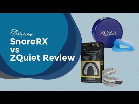 Snorerx Vs Zquiet Review Youtube Reviews Youtube Development