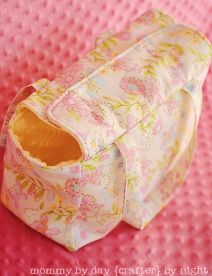 Tutorial: Dolly Diaper Bag · Sewing | CraftGossip.com