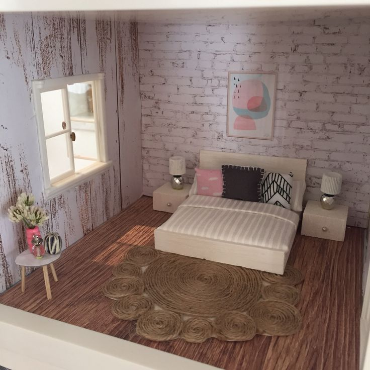 25+ Best Ideas About Homemade Dollhouse On Pinterest