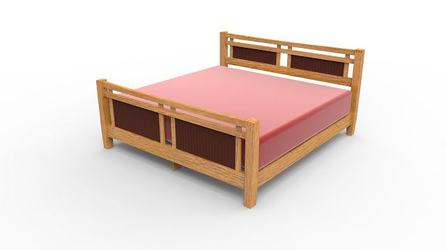 3DPUZZLE: WOODCRAFT - KING SIZE BED PROJECT