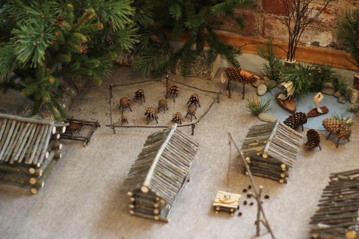Nice miniature farm