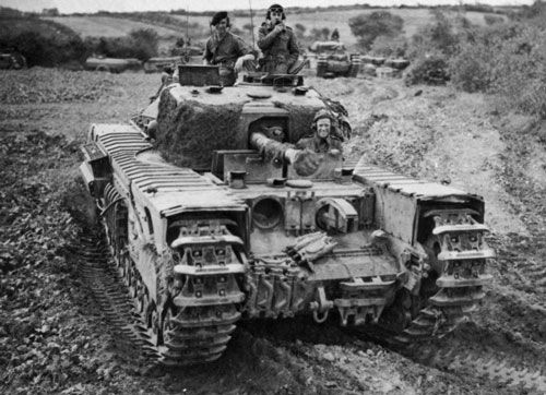 Churchill Crocodile Amazing British design with 152mm of frontal armor and the hull mounted vickers machine gun being replaced with a flamethrower