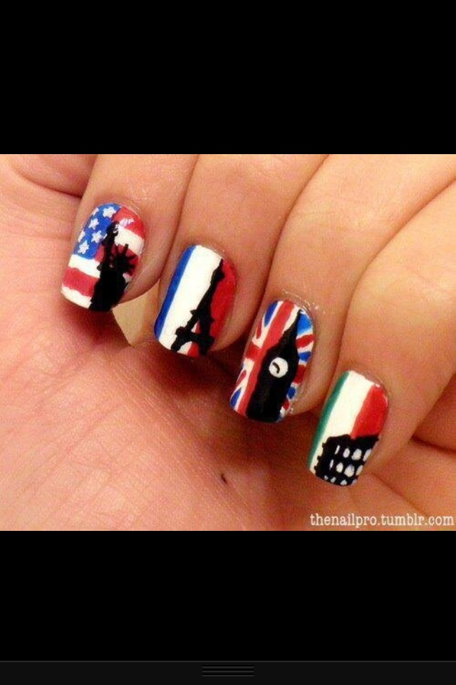 Landen nagels