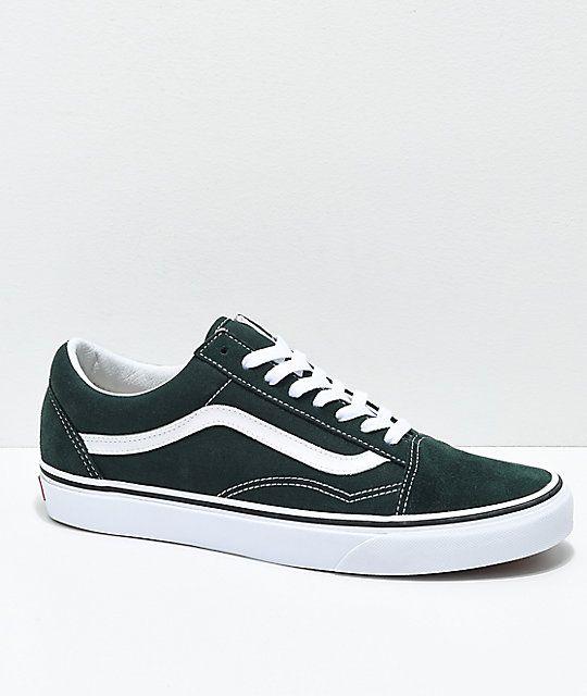 Vans old skool green   Sapatos vans