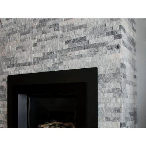 Harbor Gray Splitface Quartzite Panel Ledger Grey Stone Fireplace Brick Fireplace Makeover Stone Fireplace