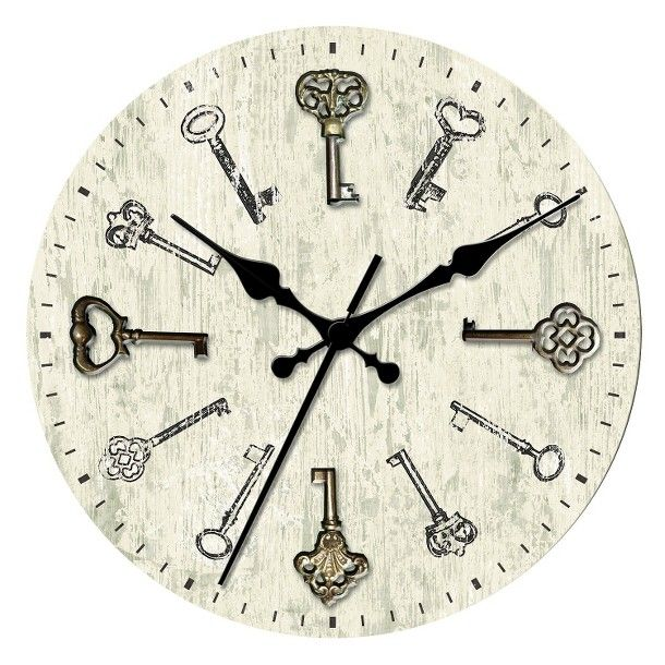 Target: Threshold™ Wall Clock with Antique Keys