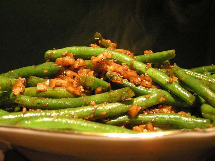 ... like this: sauteed green beans , green bean and green bean casserole