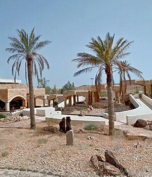 Complesso panoramico sul Mar Morto