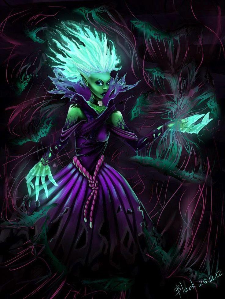 Pinterest BLACK: Death prophet