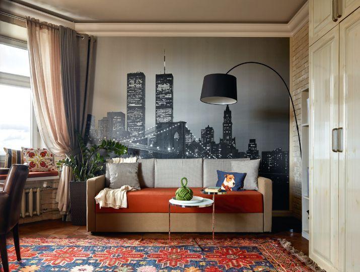 Квартира для семьи из 4 человек в классическом стиле, 147 кв. м