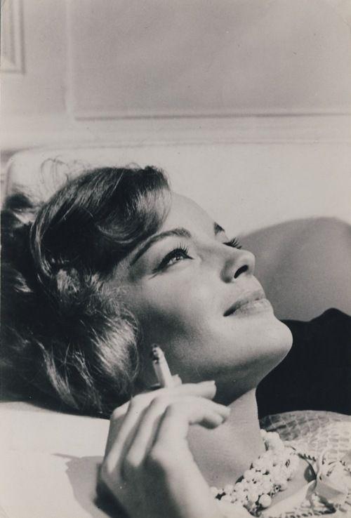 Romy Schneider, best known in France although she was German I believe.
